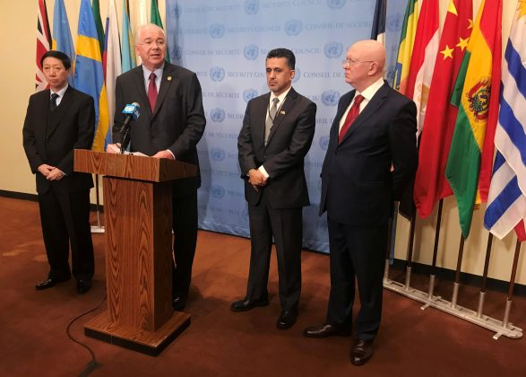 Russia, China, others boycott U.S. meeting at U.N. on Venezuela