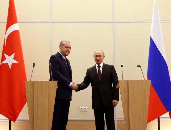 Erdogan swipes at Russia, U.S. missions in Syria