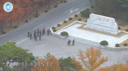 Escape from North Korea: video shows defector under fire