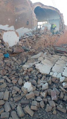 Quake hits southeast Iran, destroys homes; no fatalities reported