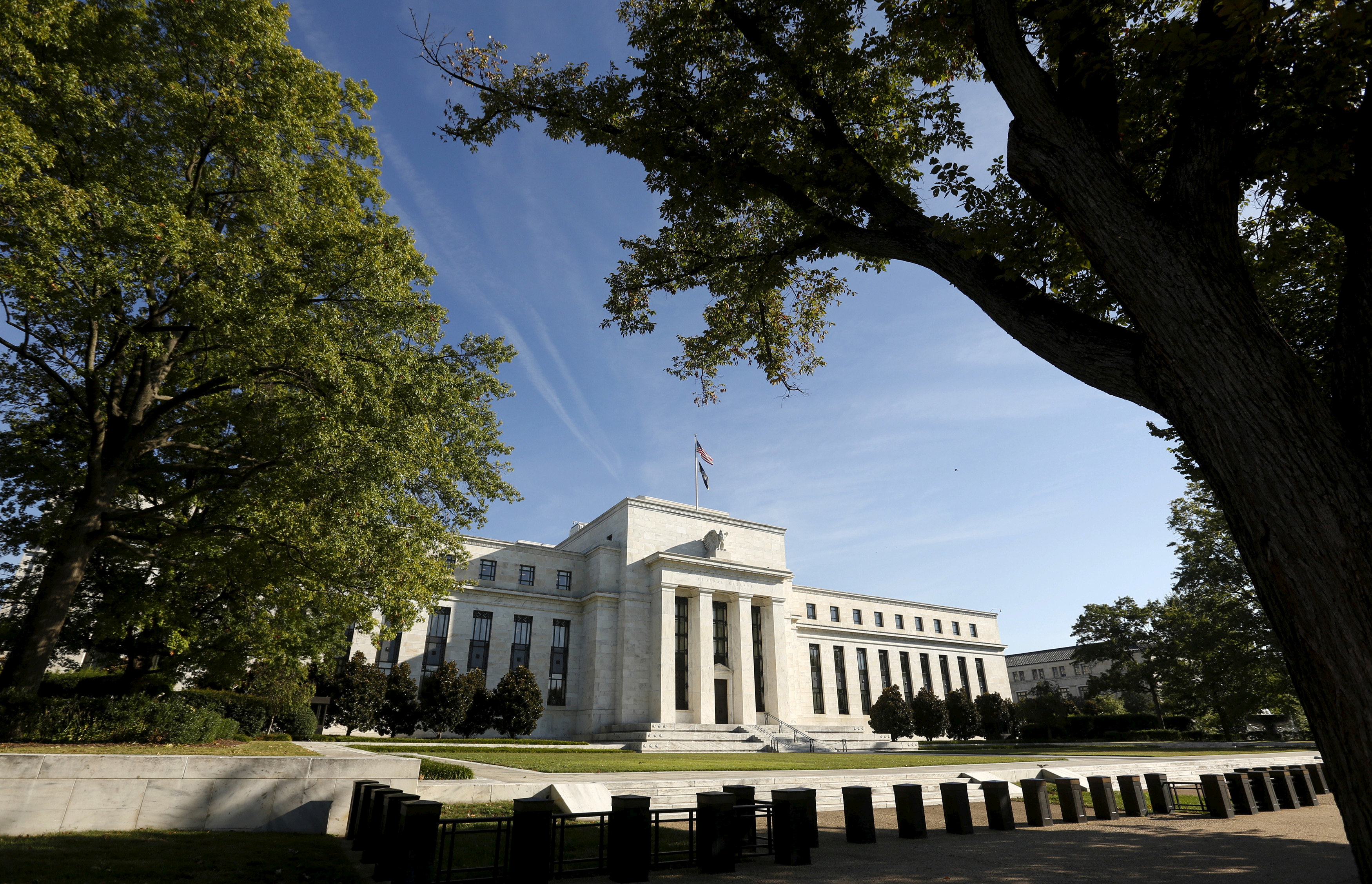 The Federal Reserve headquarters in Washington September 16 2015. REUTERS/Kevin Lamarque/File Photo