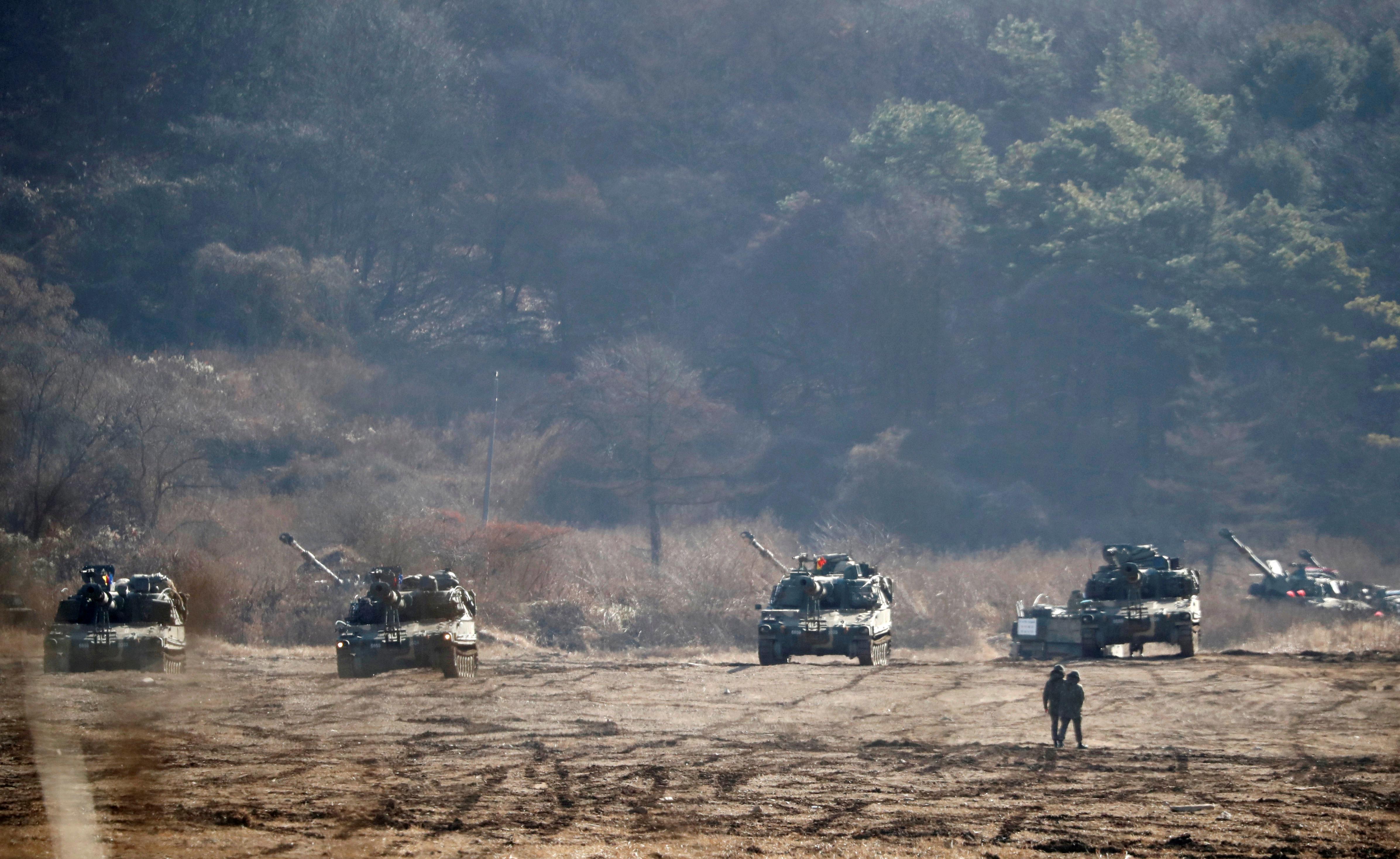 South Korea, U.S. kick off large-scale air exercise amid North Korean warnings
