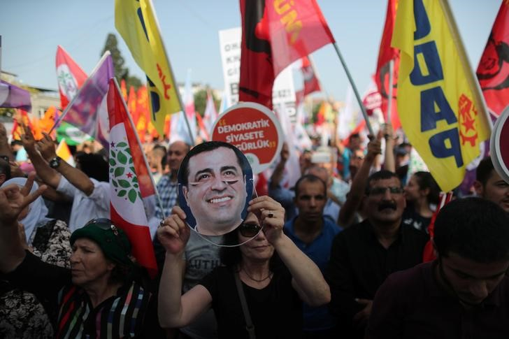 Pro-Kurdish opposition leader goes on trial in Turkey on terrorism-related charges