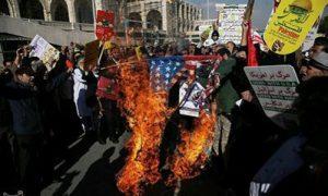 Iranians rally against Trump's Jerusalem move, burn U.S. flags: TV