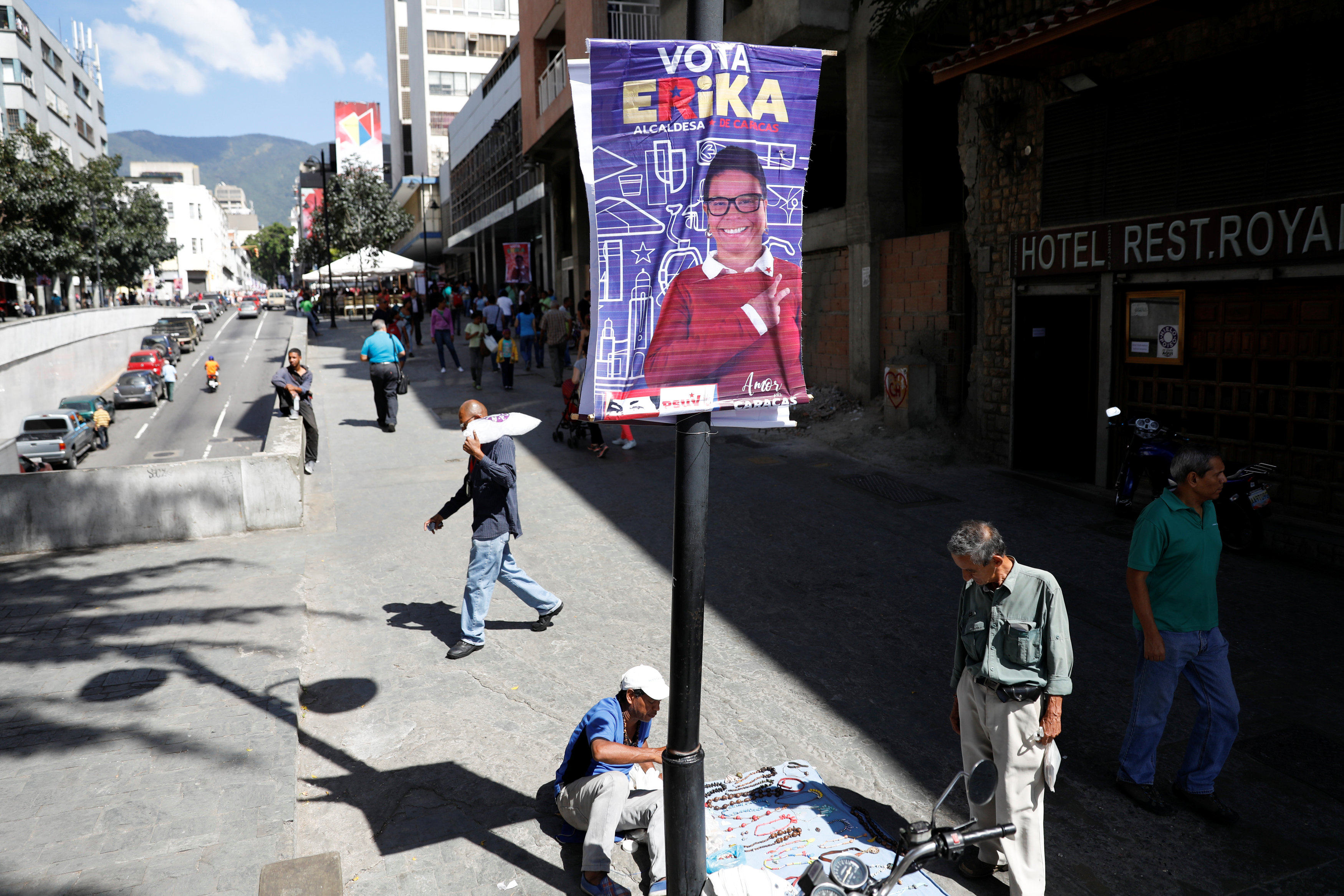 With opposition split, Venezuela mayoral vote will strengthen Maduro
