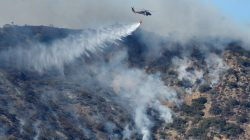 Vicious winds to test crews battling California wildfire
