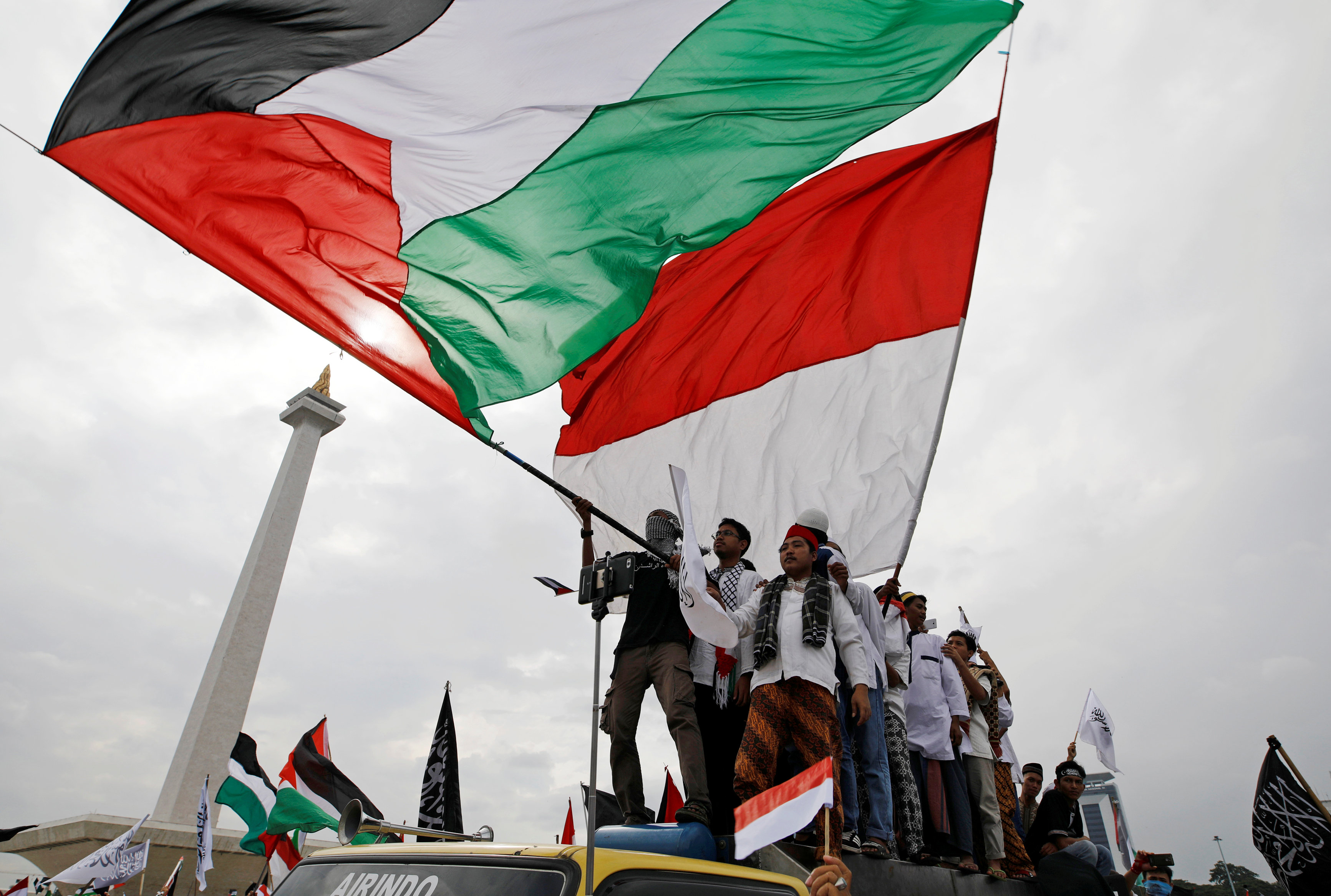 Indonesia labels calls for U.S. boycott over Jerusalem move 'misguided'
