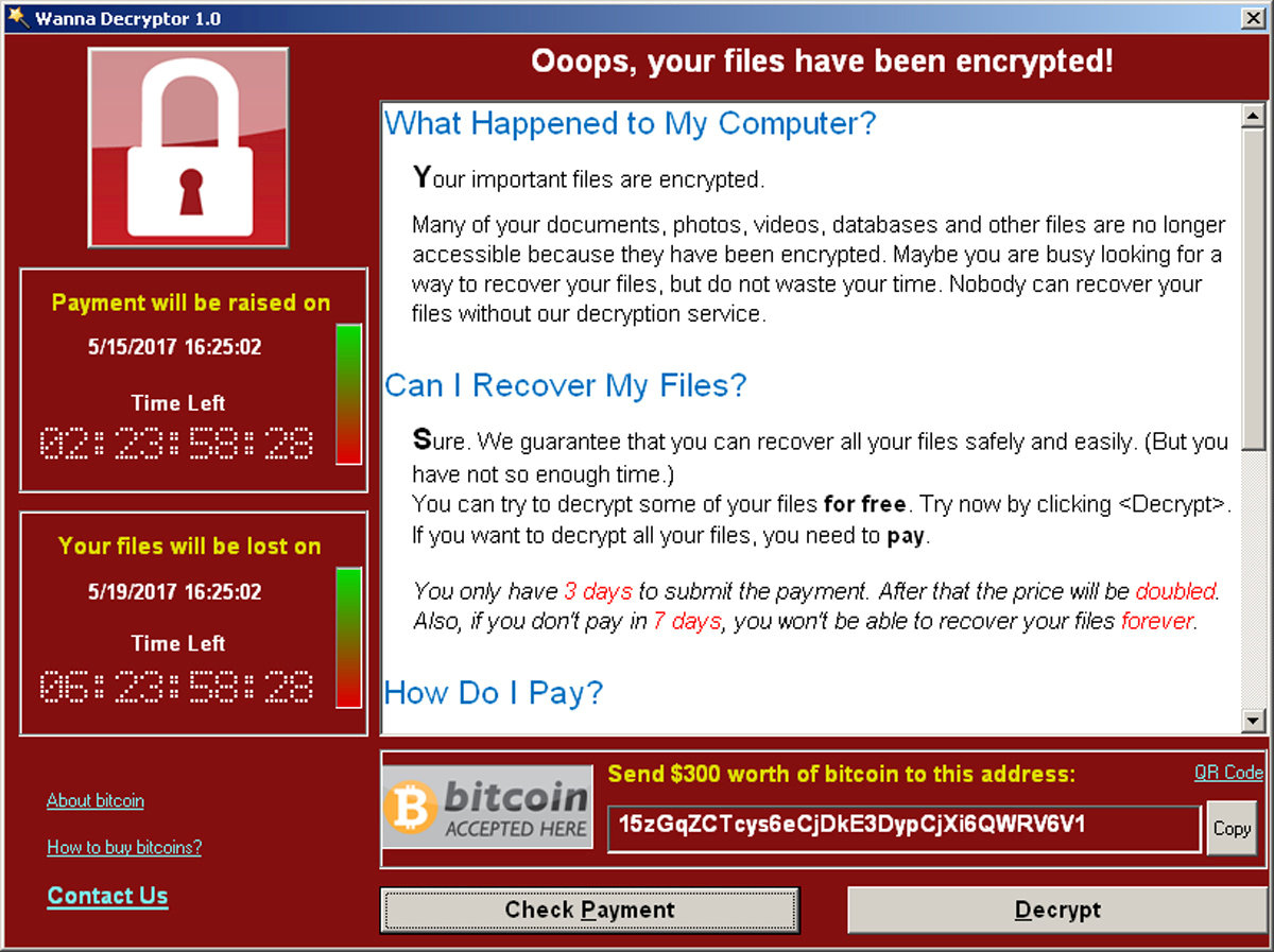 U.S. blames North Korea for 'WannaCry' cyber attack