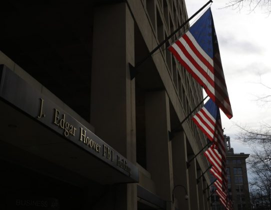 The main headquarters of the FBI, the J. Edgar Hoover Building, is seen in Washington on March 4, 2012.