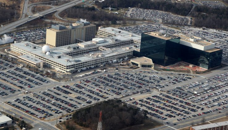 : An aerial view of the National Security Agency (NSA) headquarters in Fort Meade, Maryland, U.S. January 29, 2010. REUTERS/Larry Downing/File Photo