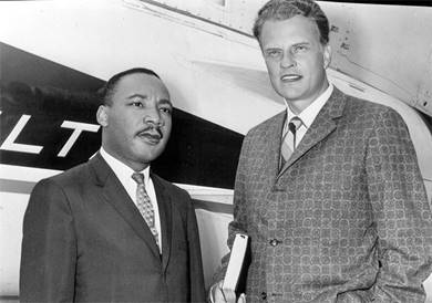 MLK-Billy-Graham