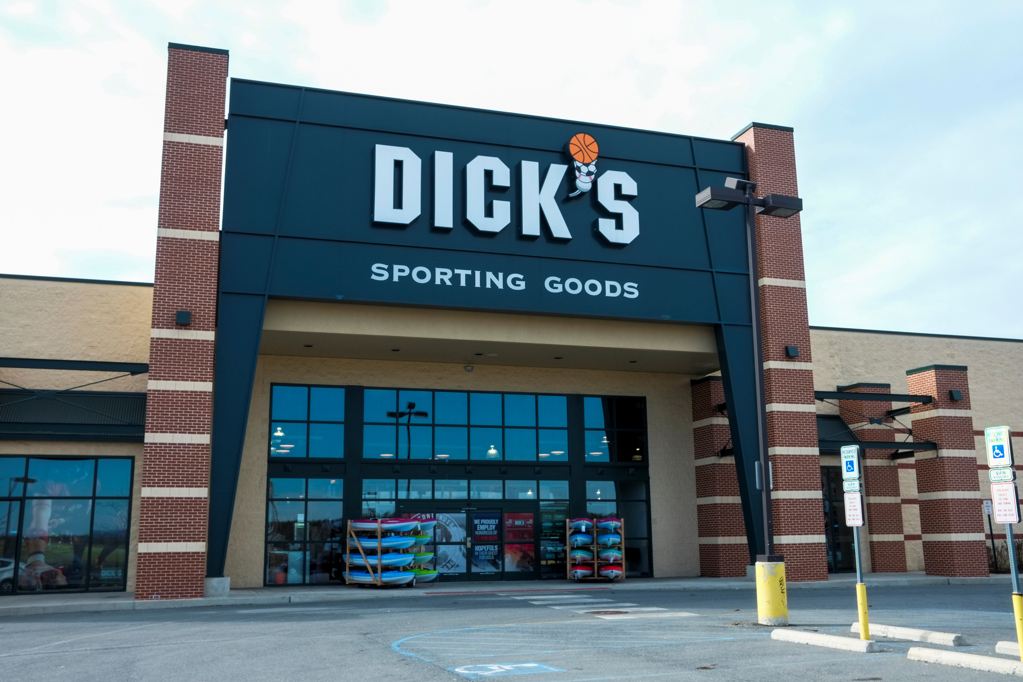 A general view of Dick's Sporting Goods store in Stroudsburg, Pennsylvania, U.S., February 28, 2018. REUTERS/Eduardo Munoz