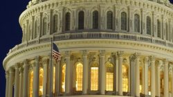 FILE PHOTO: The United States Capitol Dome is seen before dawn in Washington March 22, 2013. REUTERS/Gary Cameron