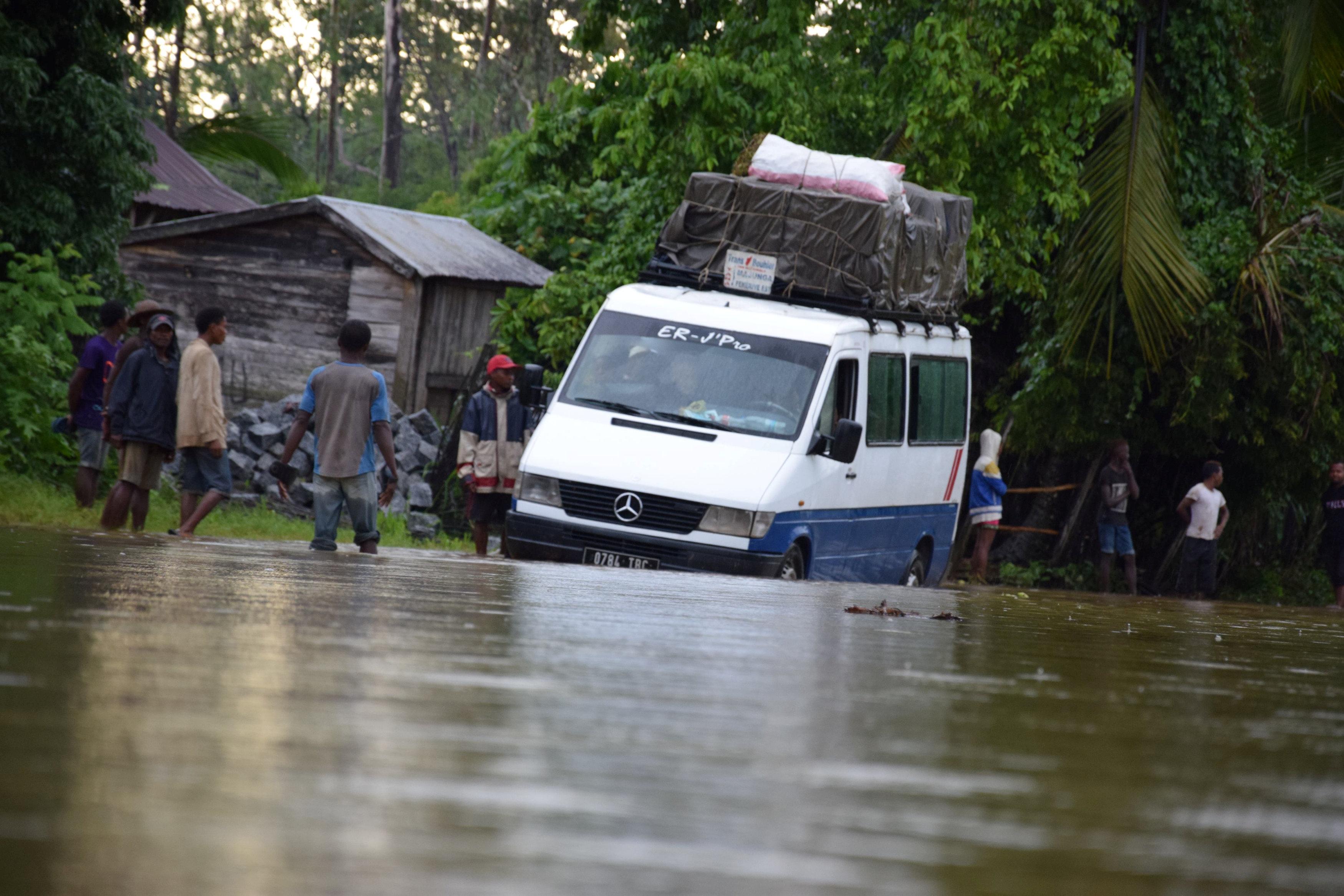 The aftermath of the tropical storm Eliakim near Manambonitra, Atsinanana region, Madagascar, March 18, 2018 in this picture obtained from social media. Erino Razafimanana/ via REUTERS