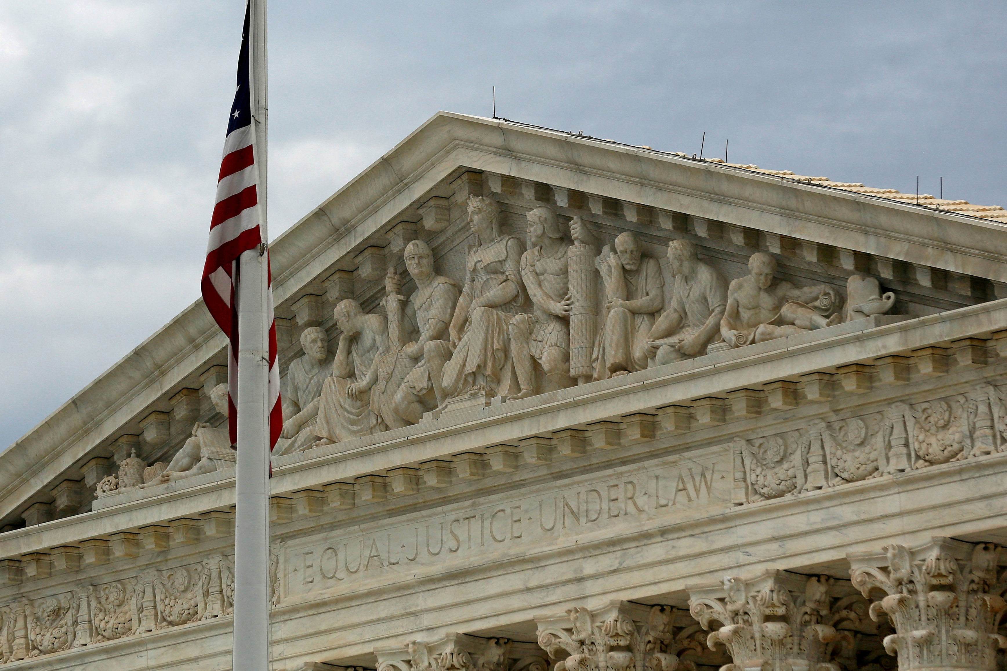 A view of the U.S. Supreme Court building is seen in Washington, DC, U.S., October 13, 2015. REUTERS/Jonathan Ernst/File Photo