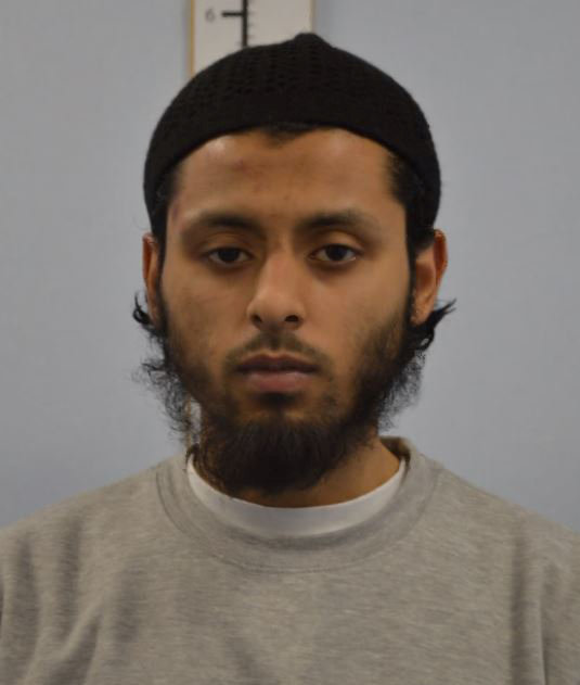 Umar Ahmed Haque is seen in an undated booking photograph handed out by the Metropolitan Police in London, Britain March 2, 2018. Metropolitan Police handout via REUTERS