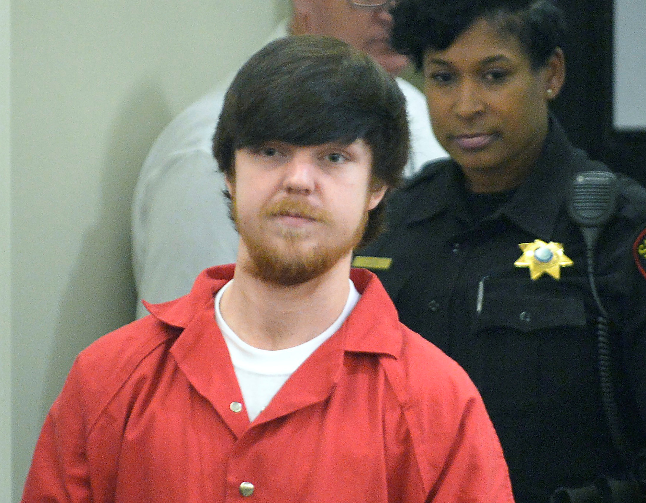 """FILE PHOTO: Ethan Couch, the so-called """"affluenza"""" teen, is brought into court for his adult court hearing at Tim Curry Justice Center in Fort Worth, Texas April 13, 2016. Fort Worth Star-Telegram/Max Faulkner/Pool via REUTERS"""