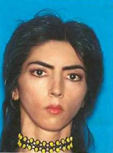 Nasim Najafi Aghdam appears in a handout photo provided by the San Bruno Police Department, April 4, 2018. San Bruno Police Department/Handout via REUTERS