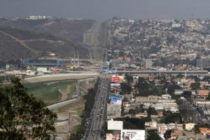 A general view shows San Diego, U.S. and Tijuana, Mexico (R) in this picture taken from the Mexican side of the border in Tijuana, Mexico 4, 2018. REUTERS/Jorge Duenes