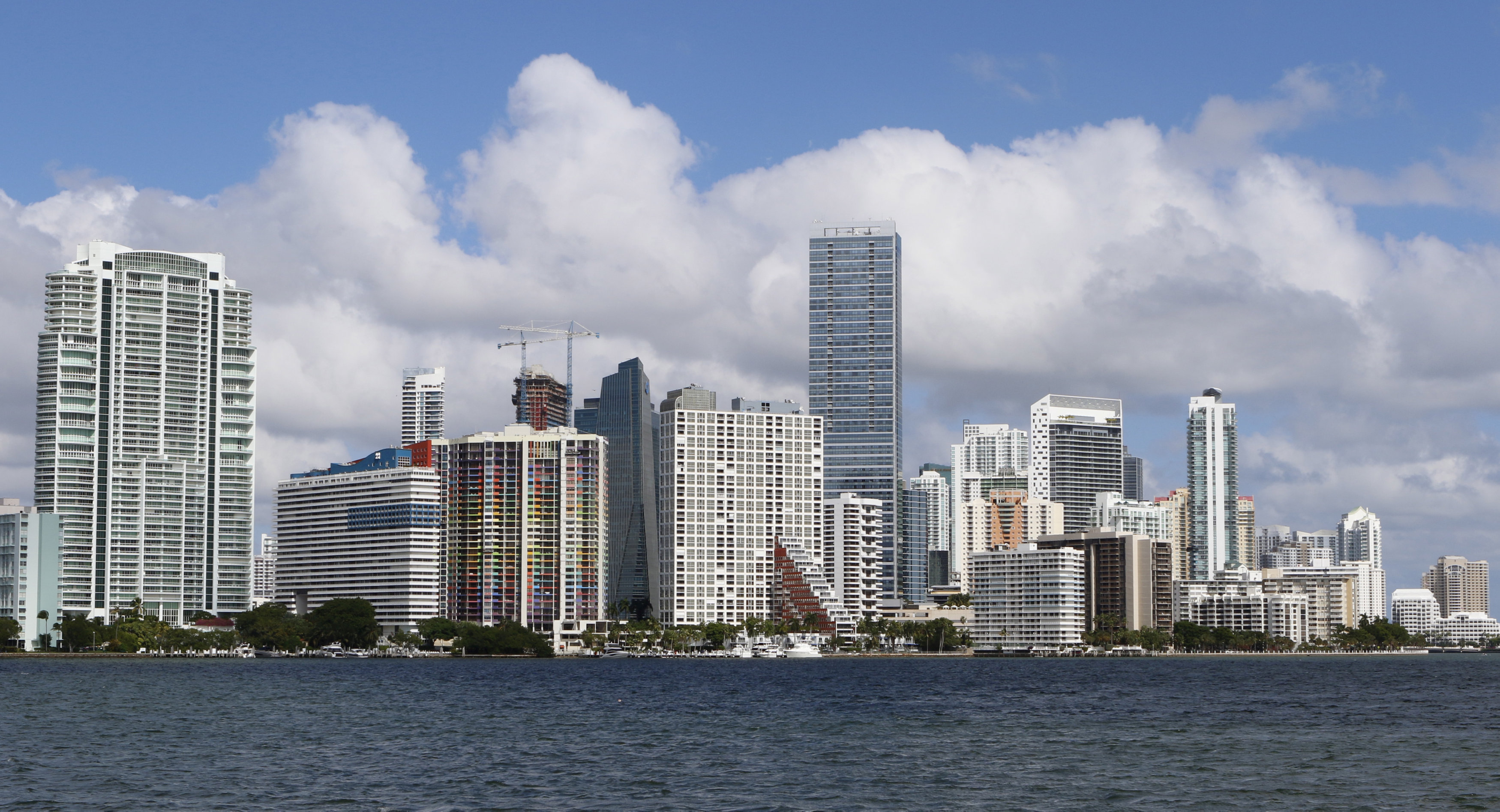 FILE PHOTO: The downtown skyline of Miami, Florida is seen on Nov 5, 2015. REUTERS/Joe Skipper/File Photo