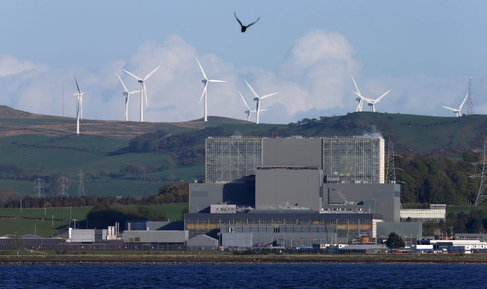 FILE PHOTO: The Hunterston nuclear power station in West Kilbride, Scotland May 15, 2013. REUTERS/Suzanne Plunkett/File Photo