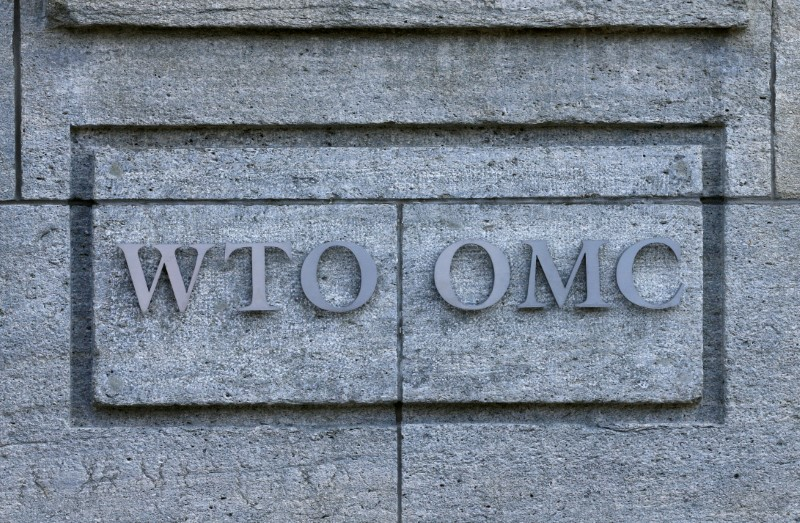 The headquarters of the World Trade Organization (WTO) are pictured in Geneva, Switzerland, April 12, 2017. REUTERS/Denis Balibouse