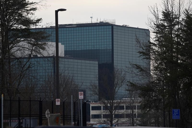 FILE PHOTO: The National Security Agency (NSA) headquarters is seen in Fort Meade, Maryland, U.S. February 14, 2018. REUTERS/Sait Serkan Gurbuz