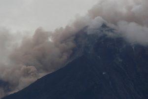 Fuego volcano is seen after a violent eruption, in San Juan Alotenango, Guatemala June 3, 2018. REUTERS/Luis Echeverria