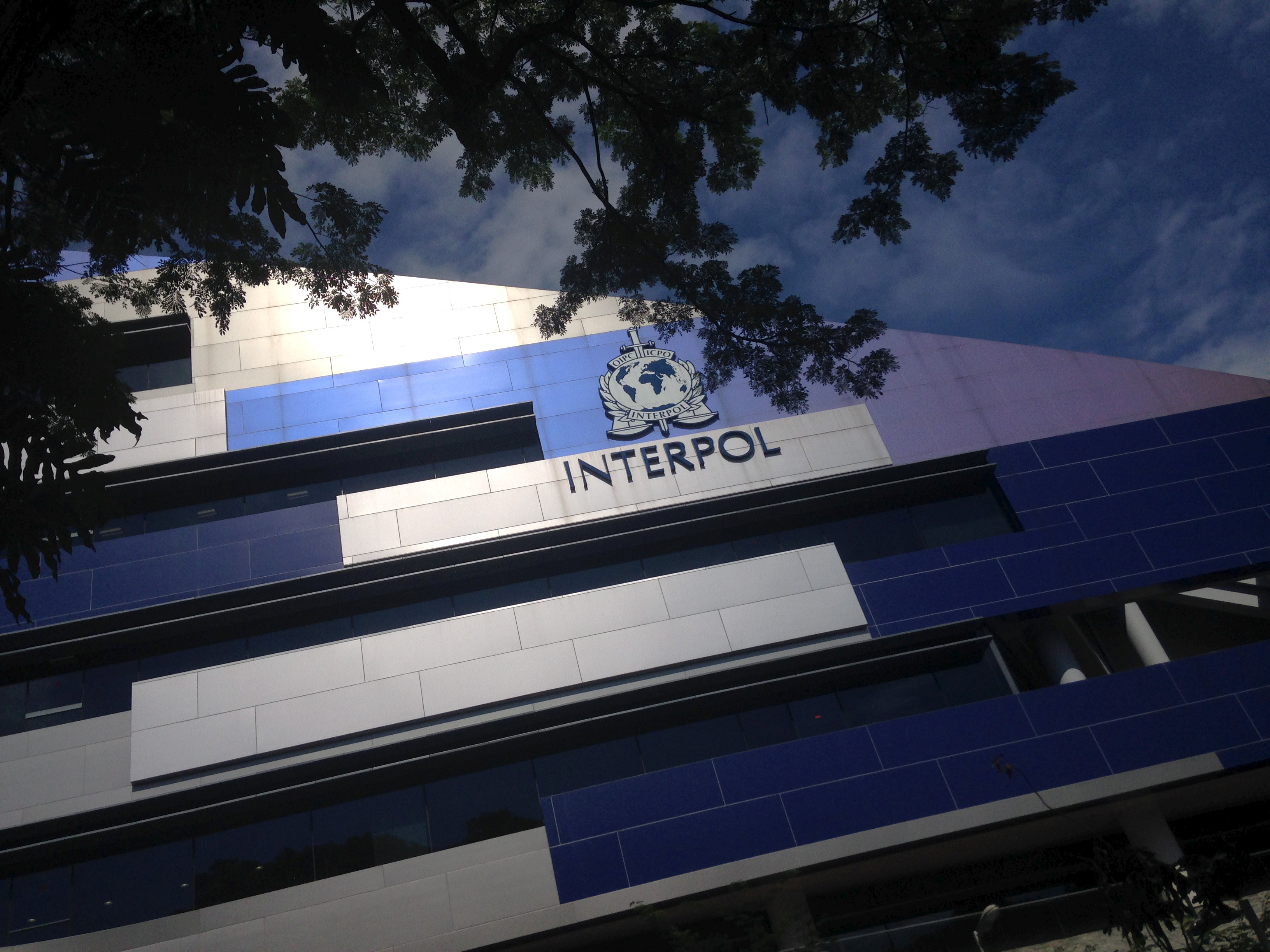 FILE PHOTO: Interpol's headquarters are seen in Singapore November 18, 2015. REUTERS/Thomas White/File Photo