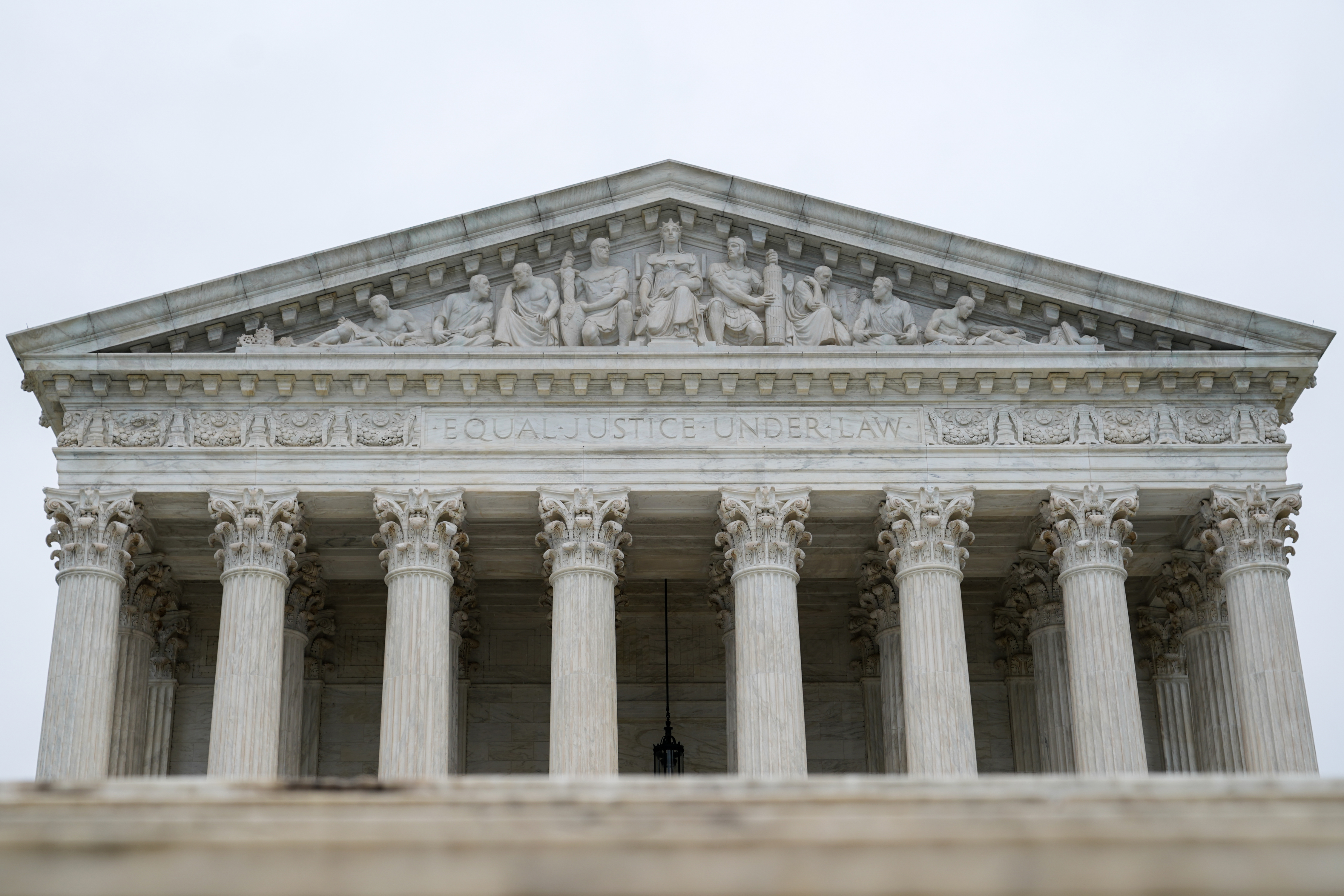FILE PHOTO: The U.S. Supreme Court is seen as the court nears the end of its term in Washington, U.S., June 11, 2018. REUTERS/Erin Schaff