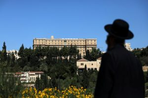 FILE PHOTO: A general view of the King David Hotel in Jerusalem, June 21, 2018. REUTERS/Ammar Awad/File Photo