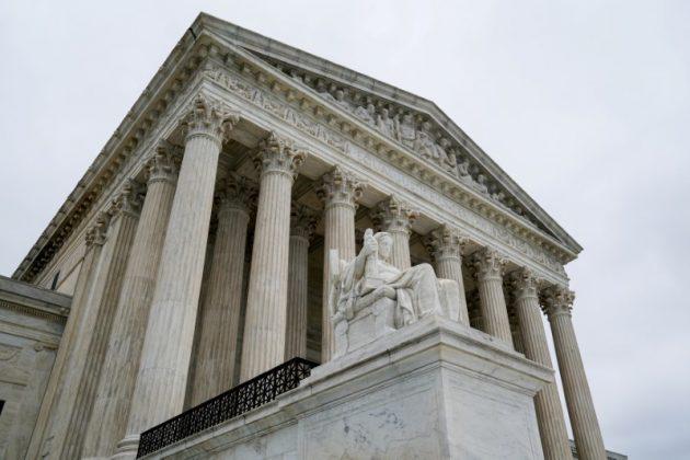 FILE PHOTO: The U.S. Supreme Court is seen in Washington, U.S., June 11, 2018. REUTERS/Erin Schaff/File Photo