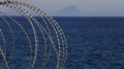 FILE PHOTO: The border fence separating Spain's northern enclave Ceuta and Morocco is seen from Ceuta, Spain, June 22, 2018. REUTERS/Juan Medina/File Photo