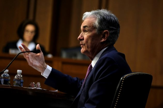 Federal Reserve Chairman Jerome Powell gives his semiannual testimony on the economy and monetary policy before the Senate Banking Committee in Washington July 17, 2018. REUTERS/James Lawler Duggan