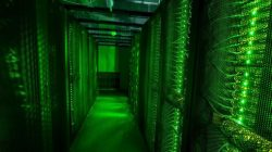 FILE PHOTO: Servers for data storage are seen at Advania's Thor Data Center in Hafnarfjordur, Iceland August 7, 2015. REUTERS/Sigtryggur Ari