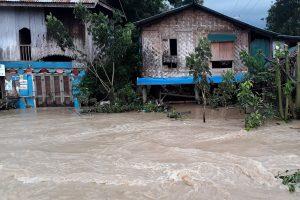 A flooded area after a dam breach is seen near Swar township in Myanmar, August 29, 2018. REUTERS/Antoni Slodkowski