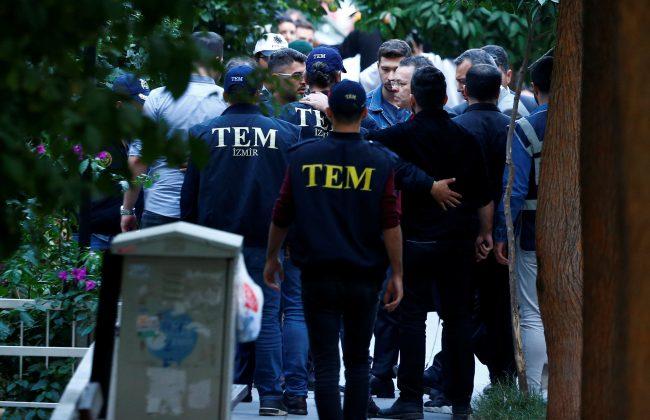 U.S. pastor Andrew Brunson arrives home after his trial in Izmir, Turkey October 12, 2018. REUTERS/Osman Orsal