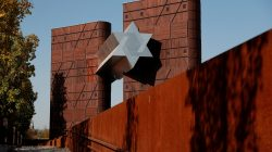FILE PHOTO: The new Holocaust museum called the House of Fates is pictured in Budapest, Hungary, October 15, 2018. REUTERS/Bernadett Szabo