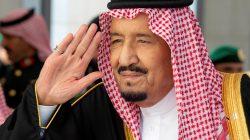Saudi Arabia's King Salman bin Abdulaziz Al Saud arrives to address the Shura Council in Riyadh, Saudi Arabia November 19, 2018. Bandar Algaloud/Courtesy of Saudi Royal Court/Handout via REUTERS