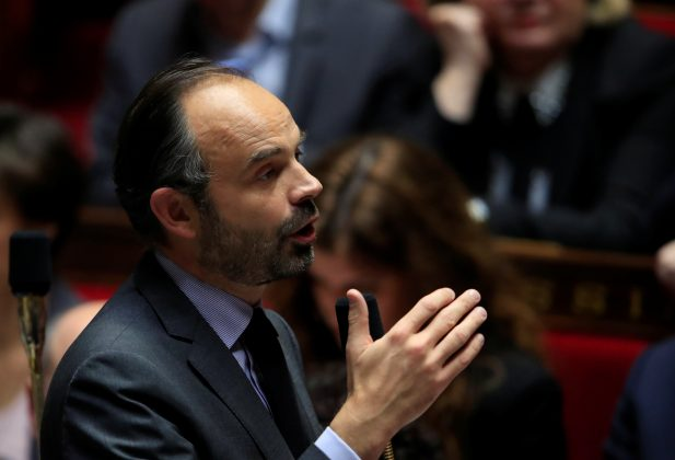 French Prime Minister Edouard Philippe attends the questions to the government session at the National Assembly in Paris, France, December 4, 2018. REUTERS/Gonzalo Fuentes