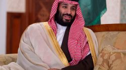 FILE PHOTO: Saudi Arabia's Crown Prince Mohammed bin Salman is pictured during his meeting with Algerian Prime Minister Ahmed Ouyahia and officials in Algiers, Algeria December 2, 2018. Bandar Algaloud/Courtesy of Saudi Royal Court/Handout via REUTERS
