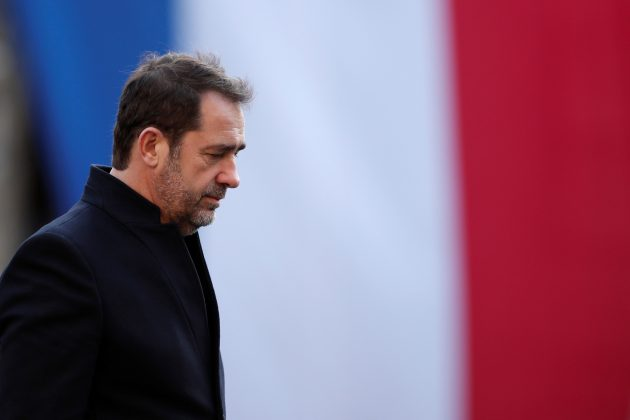 FILE PHOTO: French Interior Minister Christophe Castaner attends a ceremony at the Police Prefecture in Paris, France, December 20, 2018. REUTERS/Benoit Tessier/File Photo