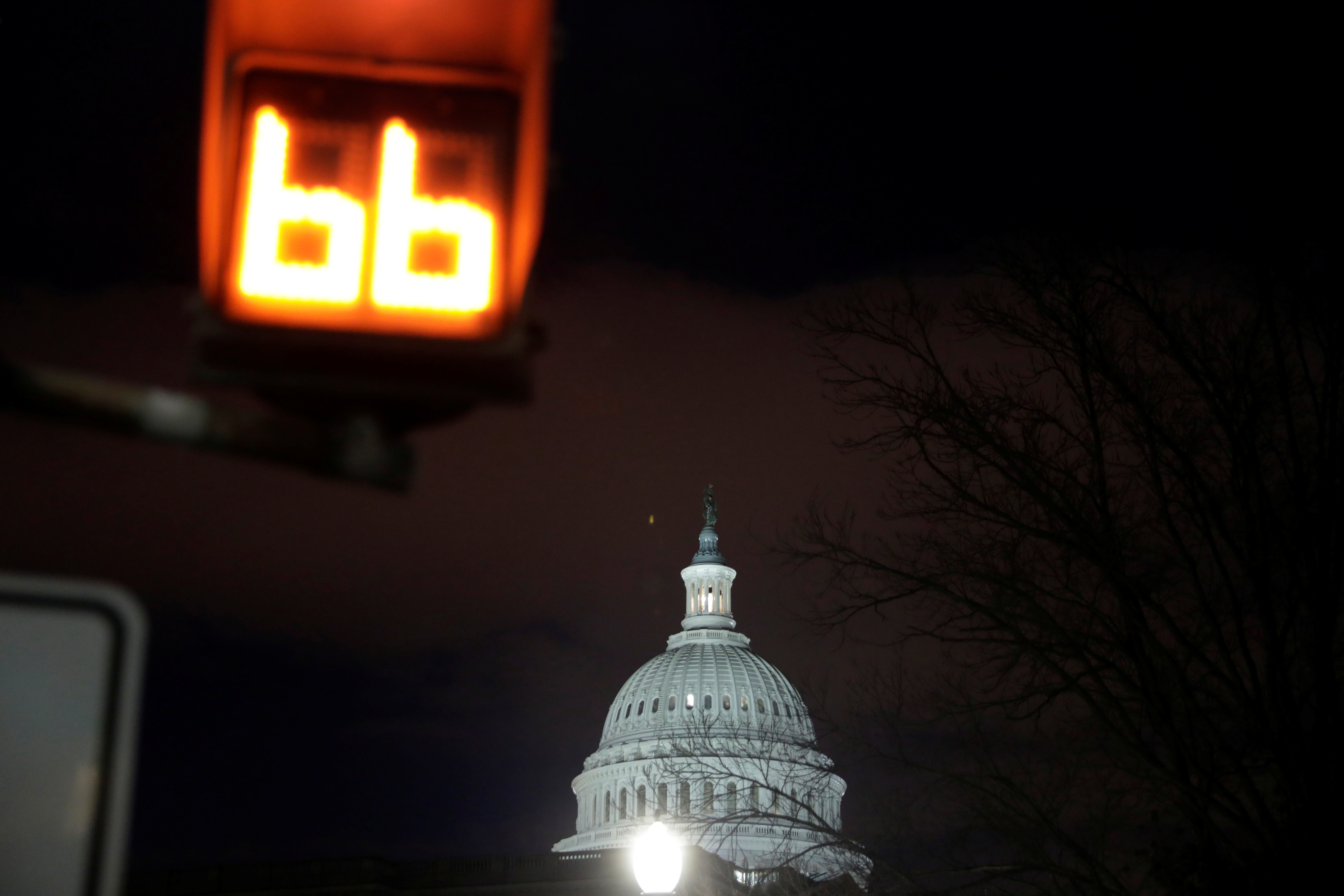 FILE PHOTO: The U.S. Capitol is seen in Washington, U.S., January 16, 2019. REUTERS/Yuri Gripas