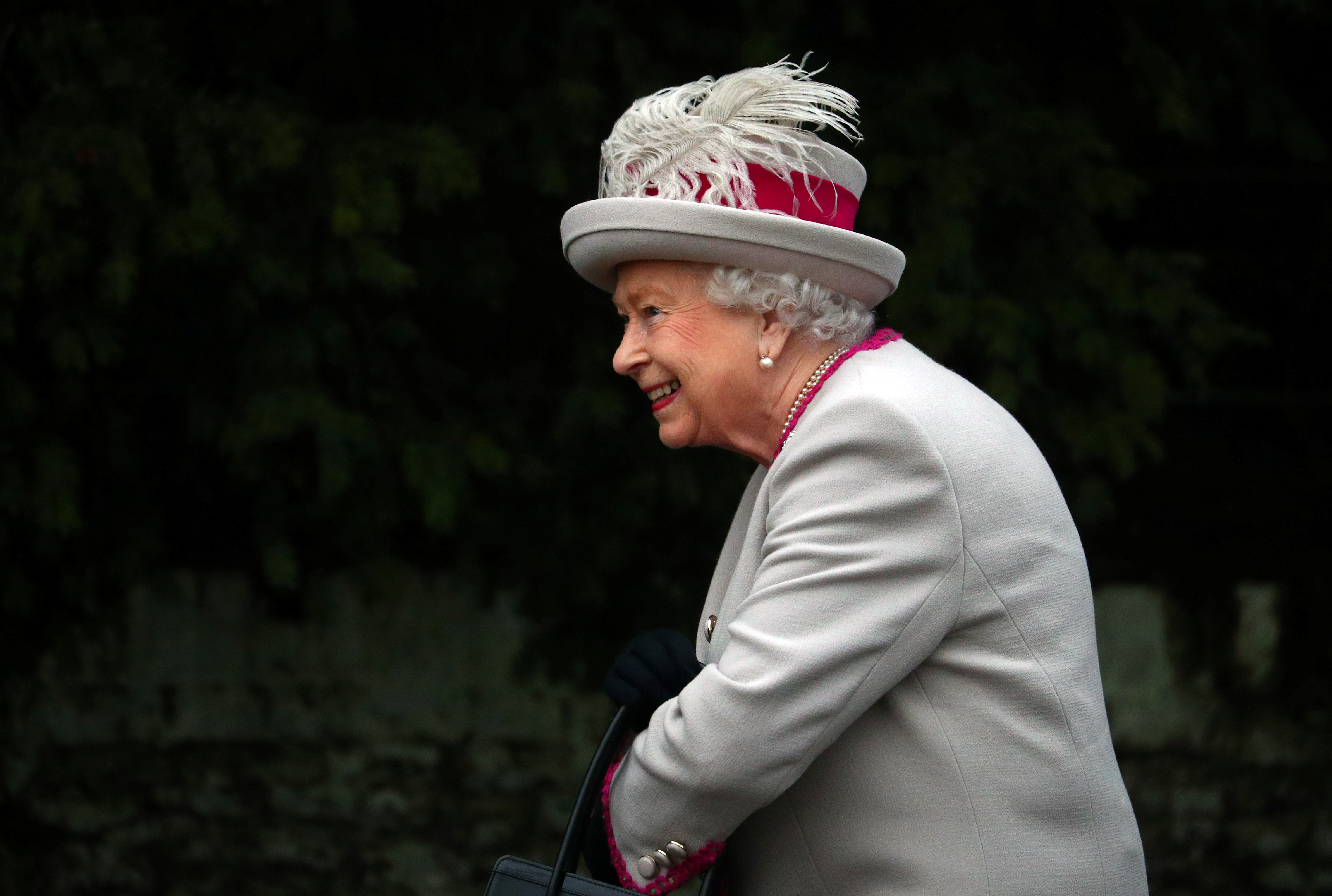Britain's Queen Elizabeth arrives at St Mary Magdalene's church for the Royal Family's Christmas Day service on the Sandringham estate in eastern England, Britain, December 25, 2018. REUTERS/Hannah McKay