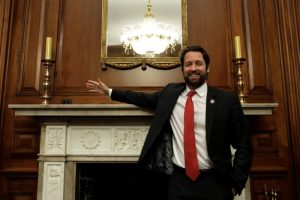 U.S. Rep. Joe Cunningham (D-PA) poses for a picture before his interview for Reuters on Capitol Hill, February 26, 2019. REUTERS/Yuri Gripas