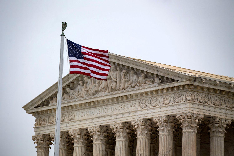 FILE PHOTO: The U.S. Supreme Court building in seen in Washington, U.S., November 13, 2018. REUTERS/Al Drago/File Photo