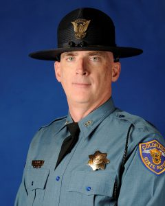 Corporal Daniel Groves, 52, of the Colorado State Patrol is pictured in this undated handout photo obtained by Reuters March 13, 2019. Colorado State Police/Handout via REUTERS
