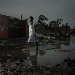 The aftermath of the Cyclone Idai is pictured in Beira, Mozambique, March 17, 2019. Josh Estey/Care International via REUTERS