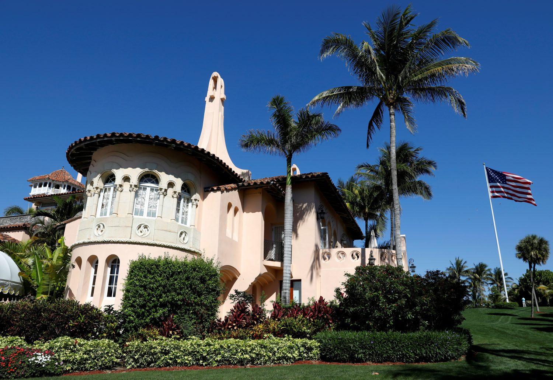 FILE PHOTO: U.S. President Donald Trump's Mar-a-Lago estate in Palm Beach, Florida, U.S., March 22, 2019. REUTERS/Kevin Lamarque/File Photo