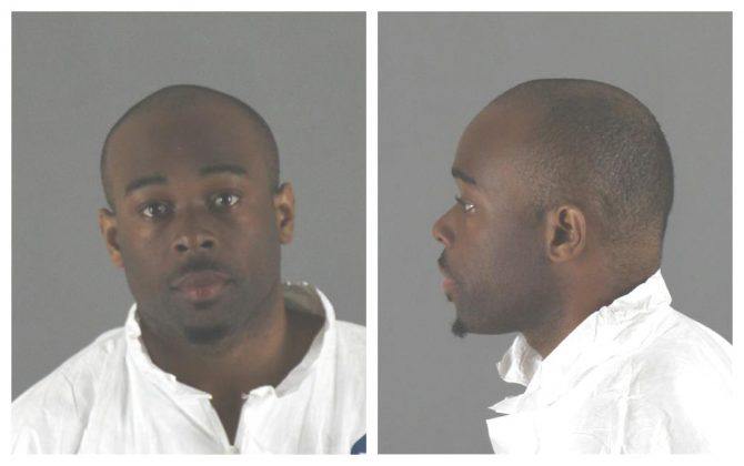FILE PHOTO: Emmanuel Deshawn Aranda, charged with attempted homicide of a 5-year-old boy thrown or pushed from a third-floor balcony at Minnesota's Mall of America, is seen in this combination photo from police released pictures in Bloomington, Minnesota, U.S., on April 12, 2019. Courtesy City of Bloomington Police Department/Handout via REUTERS
